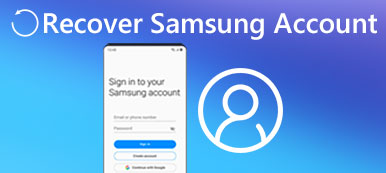 Recover Samsung Account