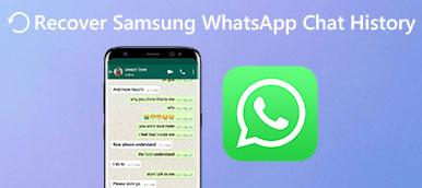 Stellen Sie den Samsung WhatsApp Chat-Verlauf wieder her