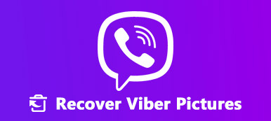recover lost Viber photos
