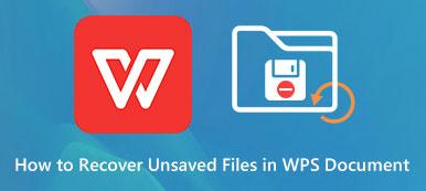 WPSファイルを回復する