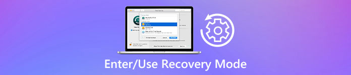 Mode de récupération Mac
