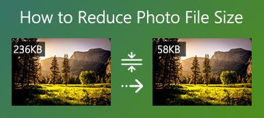 Réduire la taille du fichier photo