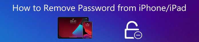how to remove password from iphone