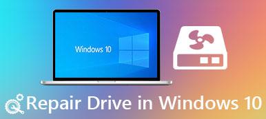 Reparieren Sie das Laufwerk in Windows 10