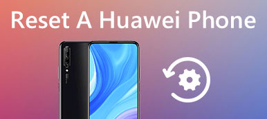 Réinitialiser un téléphone Huawei