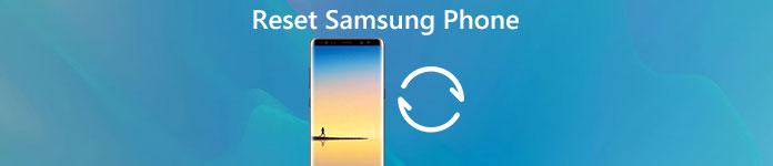 Réinitialiser un téléphone Samsung