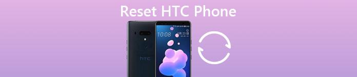 Сбросить телефон HTC