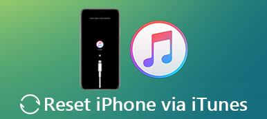 Reset iPhone with iTunes