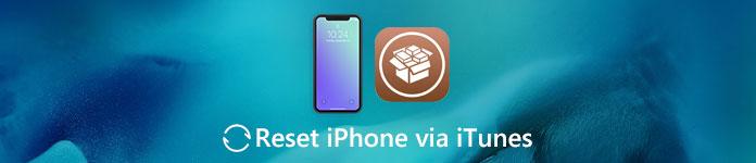 Réinitialiser l'iPhone jailbreaké