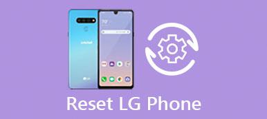 Réinitialiser le téléphone LG
