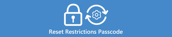 how to reset your restrictions passcode on iphone 4
