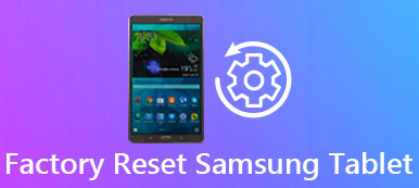 Réinitialiser Samsung Tablet