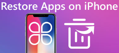 Restaurer les applications sur iPhone