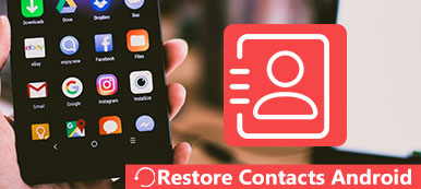 Restaurer les contacts sur Android