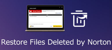 Recover Files Deleted by Norton