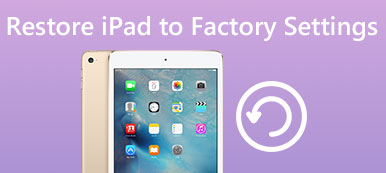 Restore iPad to Factory Settings