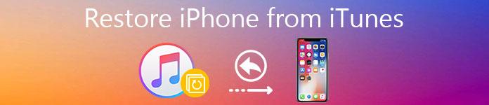 IPhone von iTunes wiederherstellen