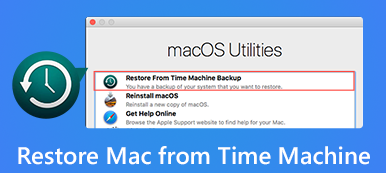 Restore Mac from Time Machine
