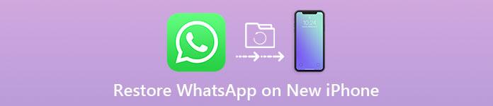 新しいiPhoneでWhatsAppチャット履歴を復元する