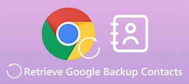 Retrieve Google Backup Contacts