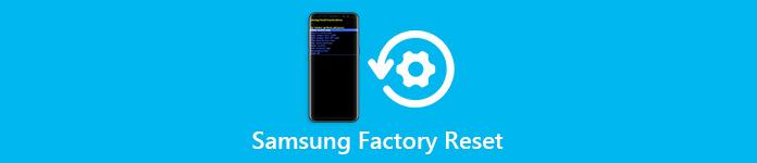 Réinitialisation Samsung