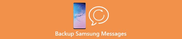 Sauvegarde des messages Samsung