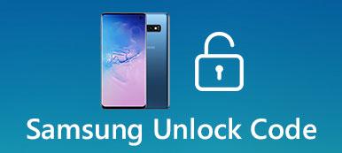 Code de déverrouillage Samsung