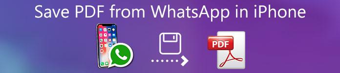 iPhoneのWhatsAppからPDFを保存