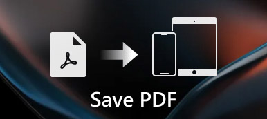 Save PDF to iPhone