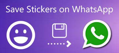 Enregistrer les autocollants sur WhatsApp