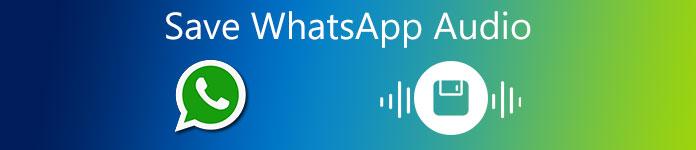 Enregistrer l'audio WhatsApp
