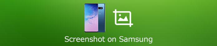Capture d'écran sur Samsung