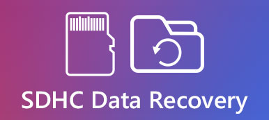 SDHC data recovery