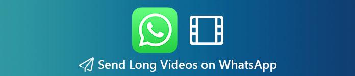 Envoyer de longues vidéos sur WhatsApp