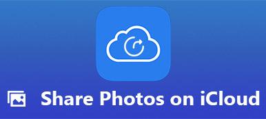 Partager des photos sur iCloud