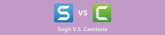 Snagit contre Camtasia