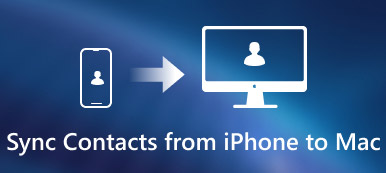 Synchroniser les contacts de l'iPhone vers le Mac