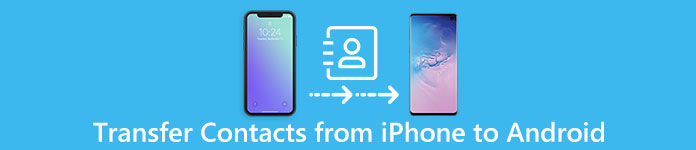 Transférer les contacts de l'iPhone à l'appareil Android
