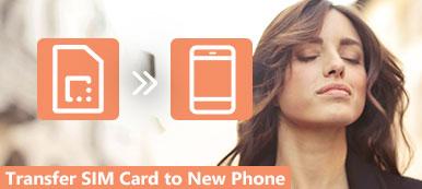 Transférer la carte SIM vers un nouveau téléphone