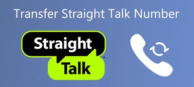 Übertragen Sie die Straight Talk Nummer