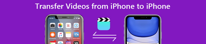 Transfer Videos from iPhone to iPhone