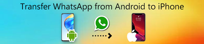 Transférer WhatsApp d'Android vers iPhone