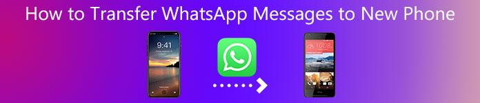 WhatsAppメッセージを新しい電話に転送する方法