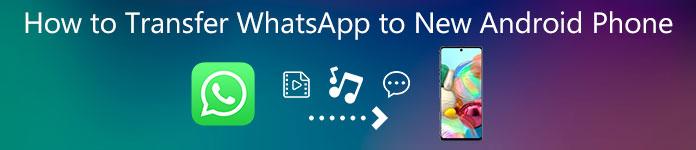 Comment transférer WhatsApp sur un nouveau téléphone Android