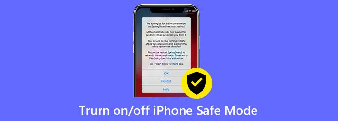 Ein- oder Ausschalten des abgesicherten iPhone-Modus