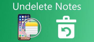 Undelete Notes sur iPhone