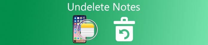 Wiederherstellen von Notizen auf dem iPhone
