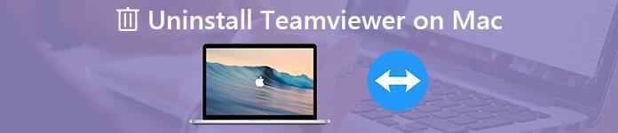 Deinstallieren Sie TeamViewer auf einem Mac