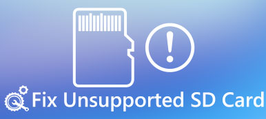 Unsupported SD Card