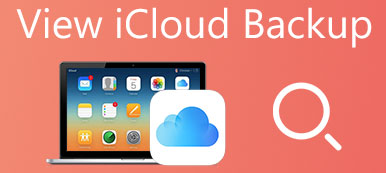 View All iCloud Backup Files